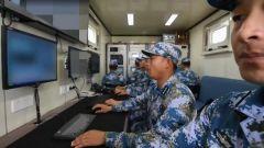 【直擊演訓場】渤海海域 海軍某試訓區跟蹤測控武器試驗