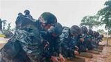 """近日,陆军第80集团军""""铁拳劲旅""""紧抓练兵时机,组织官兵在降雨天气下开展轻武器实弹射击考核,锤炼官兵在复杂环境下的射击技能和实战能力,强化他们的备战意识。"""