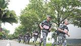 3公里武装越野