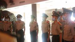 武警江西总队机动支队参观新四军军部旧址