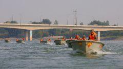 陆军第83集团军某旅:抗洪演练锤炼部队应急救援能力