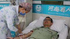 爱的奉献:武警警官捐献造血干细胞救治白血病女孩