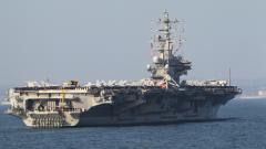 """美国""""带病""""航母为何坚持在南海""""耀武扬威""""?杜文龙:示强和打气"""