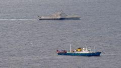 """专家:为在南海放大军事符号 美濒海战斗舰""""无事是生非""""抵近中国科考船"""