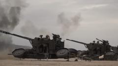 火力全开!新疆军区某团跨昼夜实弹射击演练