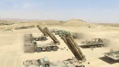 西北大漠:远火部队精确打击 火力全开