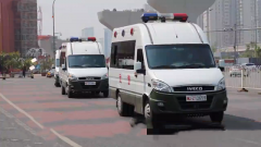 北京:武警官兵加强巡逻 确保考点治安稳定