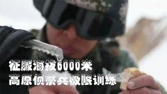 【奋斗强军】征服海拔6000米 高原侦察兵极限训练