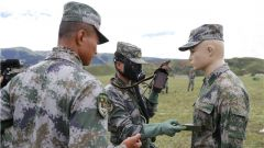 筑牢胜战根基!陆军第77集团军某旅组织领导机关干部防化专业技能考核