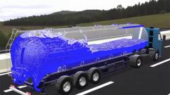 油罐车的油箱试验:球形防爆材料对油体浪涌有何效用?