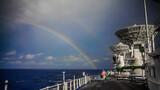 瑰丽的彩虹,是对远望人完成任务最好的嘉奖