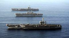 """南海同场军演 声称战舰""""照面""""国防部喊话美军:停止挑衅"""