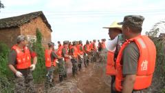 闻令而动 解放军和武警官兵紧急驰援江西抗洪一线