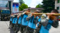 军体运动会 点燃夏日火热训练场