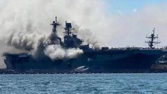 """杜文龙:美海军大幅压缩军舰维修时间 10年烧掉一支""""准航母""""编队"""