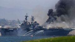 """驻日美军疫情严重 准航母连烧数天:美亚太前沿部署或受""""重击"""""""
