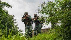 武警来宾支队:山林地捕歼战斗 锤炼协同作战能力