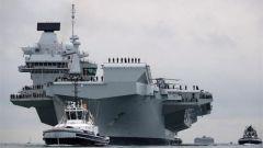 """英国为何也派航母来南海""""拱火""""? 叶海林:既有""""前科""""还为响应美国"""