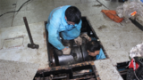 轴承检修作业