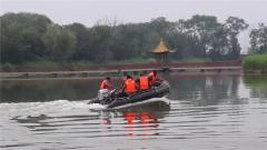 山东东营:备战防汛 军地联合开展抗洪抢险技术培训