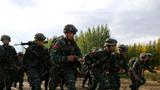 武装奔袭课目训练