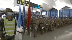 我驻海外维和部队今年首次轮换 中国第八批赴马里维和部队起程