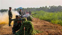 开火!武警警官学院训练基地开展重火器专业学员实弹射击考核