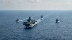 兴风作浪!美拉日澳南海军演 还将派驻电磁作战部队