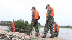 【抢险救灾 子弟兵在行动】 湖北武汉:全市一级战备迎战长江3号洪水