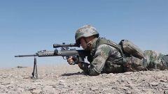 南疆军区某部:山地越野射击 锤炼侦察兵一枪制敌本领
