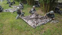 动图来袭 陆军第75集团军某旅严密组织步兵连综合演练