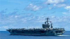 """专家:为给盟友吃""""定心丸"""" 美国派航母进中东显示压制伊朗的决心"""