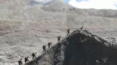 新闻特写:海拔5600米的艰辛巡逻路