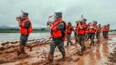 國防部:人民軍隊心向黨 戰疫之后再抗洪