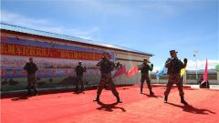 军民一家亲!西藏军区77611部队与普玛江塘乡共同举办军民共建文艺汇演