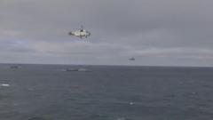 俄罗斯黑海舰队举行大规模演习