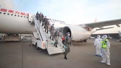 中国第18批赴黎巴嫩维和部队第一梯队归建