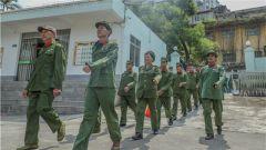 武警贺州支队:老军人回军营  红色基因永传承