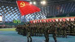 武警第二机动总队某支队:嘹亮战歌庆祝建军93周年