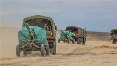 烎!直击新疆军区某火力团实射现场