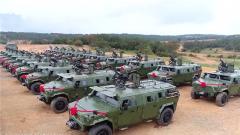 陆军第75集团军某旅举行新装备入列仪式