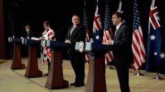 """澳大利亚外长和防长为何此时前往美国? 宋晓军: 政治""""赌博"""""""