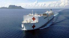 救市计划资金用于军购 美军为何采购多艘医疗船?