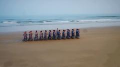 【我的八一】扎根军营 驻东福山边防连官兵合唱《战士第二故乡》