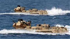 两栖车沉没 美军结束搜寻幸存者