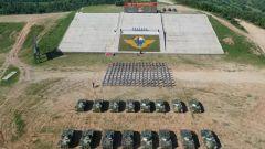 """【""""國際軍事比賽-2020""""即將舉行】中國空降兵參賽隊舉行出征誓師大會"""