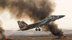 以色列战机轰炸加沙地带哈马斯军事目标