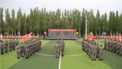 """热血开""""战""""!战略支援部队某部举办军事体育运动会"""