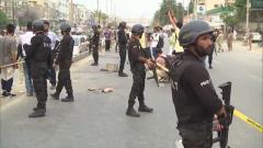 巴基斯坦:卡拉奇一集会遭袭 39人受伤