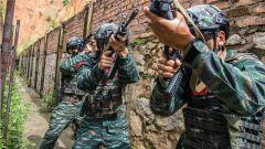 武警来宾支队:千锤百炼强本领 实战实训谋打赢